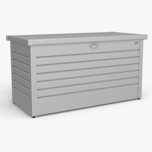 Biohort LeisureTime Box 130 - Metallic Silver