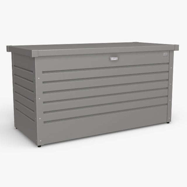 Biohort LeisureTime Box 130 - Metallic Quartz Grey