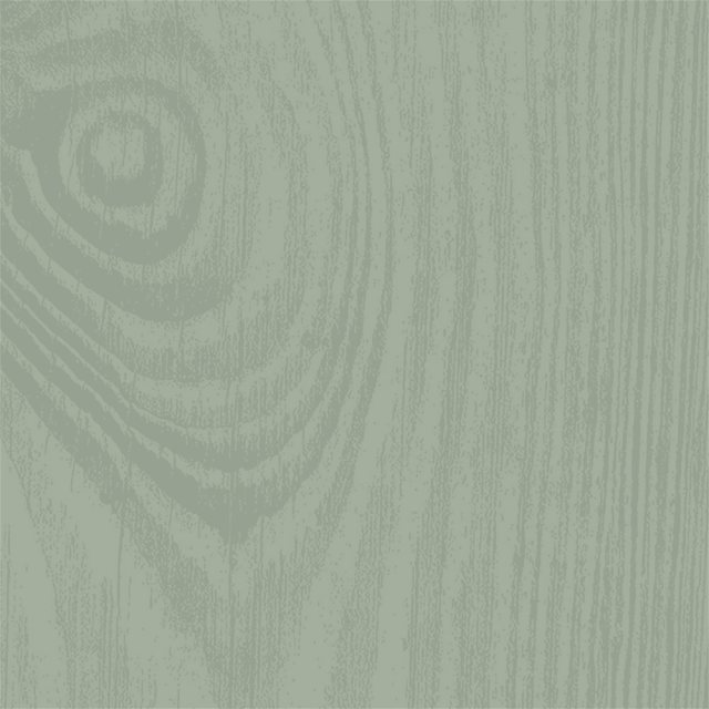 Thorndown Wood Paint 750ml - Goddess Green - Grain swatch