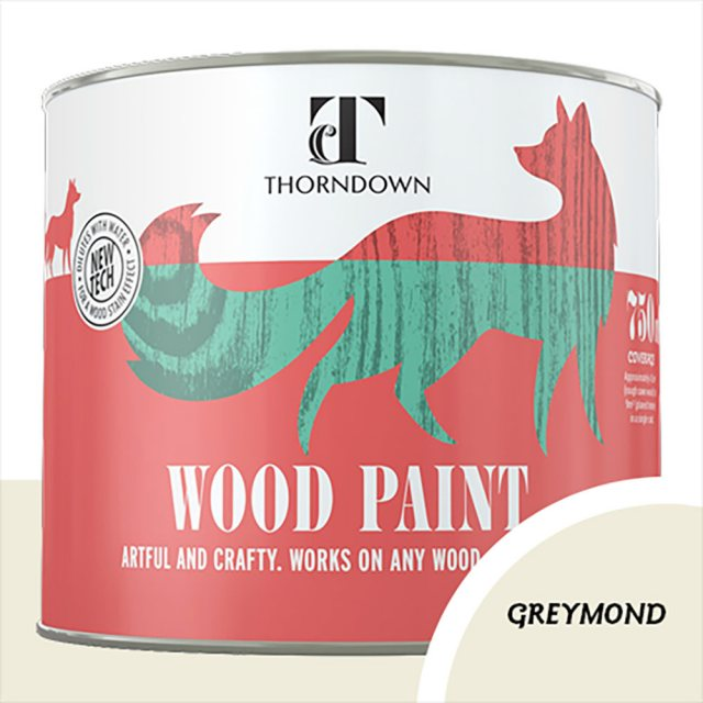 Thorndown Wood Paint 750ml - Greymond - Pot shot